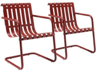 Gracie Red Chairs (Set of 2)