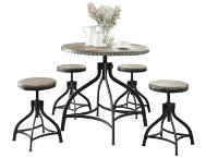 shop Micah Adj Table and 4 stools