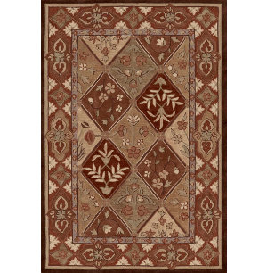 Galleria Chocolate 5'x7'6  Rug