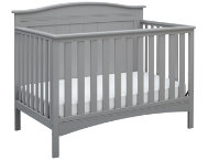 Bennett Convertible Crib -Grey
