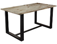 Dakota Grey Dining Table