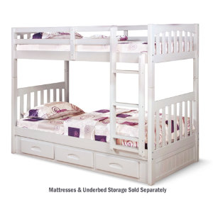 Twin   Twin Bunk Bed