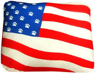 shop USA Flag Pet Bed - Small