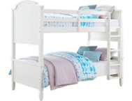 Vivienne Twin White Bunk Bed