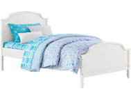 Vivienne White Twin Bed