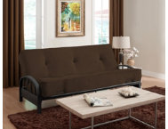 Aiden Brown Sofa Futon Set