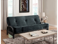Aiden Grey Sofa Futon Set