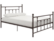 Manila Metal Full Bronze Bed