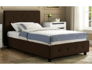 Dakota Twin Upholstered Bed