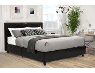 Maddie Queen Upholstered Bed