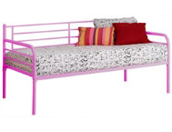 shop Ryan-Pink-Twin-Metal-Daybed