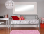 shop Ryan-Silver-Twin-Metal-Daybed