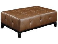Marquis Brown Cocktail Ottoman