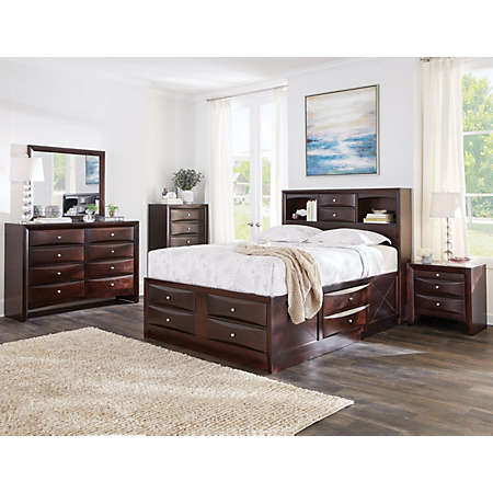 emily bedroom set. shop Emily Collection Main  Master Bedroom Bedrooms Art Van Furniture