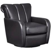 Nixon Black Swivel Chair