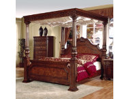 Olivia King Canopy Bed