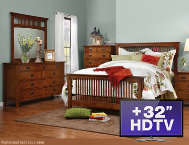 shop 6pc-King-Bedroom-Set-with-TV