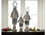 shop Dressed for Winter Deer,Small