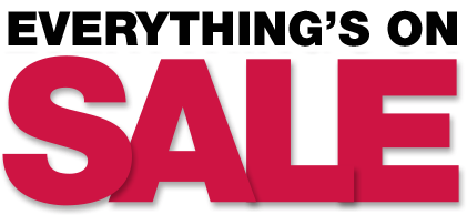 Everything is on Sale