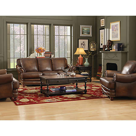 Living Rooms Leather Furniture Sets Shop San Marco Collection Main