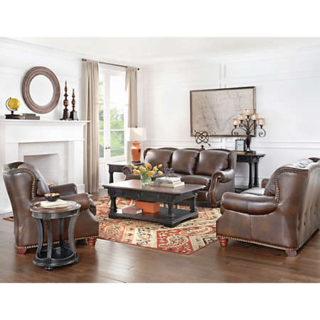 Winston Collection Leather Furniture Sets Living Rooms Art