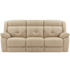 Power Leather Reclining Sofa