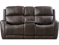 Dual Power Console Loveseat