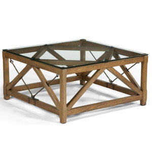Rafters Square Cocktail Table | Living Room Tables | Living Rooms ...