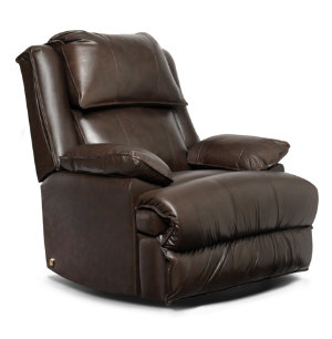 Art Van Power Leather Recliner