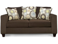 Merrill Loveseat-Chocolate