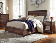 Charlton Queen Storage Bed