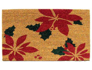 Poinsettia 18x30 Doormat