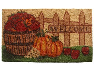 Harvest Welcome 18x30 Doormat