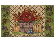 Harvest Leaves 18x30 Doormat