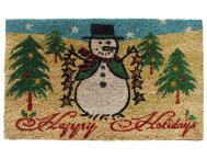 Happy Holidays 18x30 Doormat