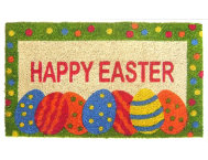 Easter Egg 18x30 Doormat