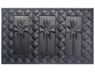 Palm 18x30 Rubber Doormat