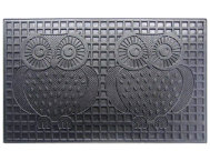 Owls 18x30 Rubber Doormat