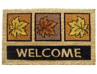 Leaves 18x30 Doormat