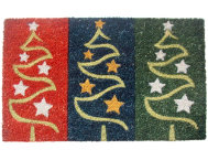 Holiday Trees 18x30 Doormat