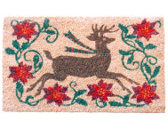 Winter Holiday 18x30 Doormat