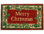Red Holly 18x30 Doormat