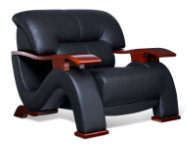 Wave-Chair-Black