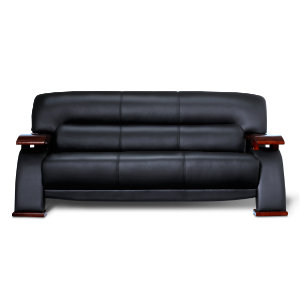 Wave Sofa Black