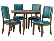 Cafe Table  4 Marine Chairs