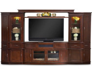 Wall Unit With 60  Console