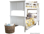 shop Twin Bunk Bed - White