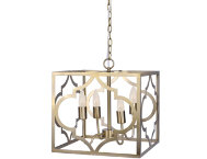 Gigi Gold Chandelier