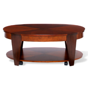 Oval Lift Top Cocktail Table