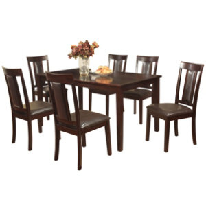 60 dining table 6 chairs art van furniture